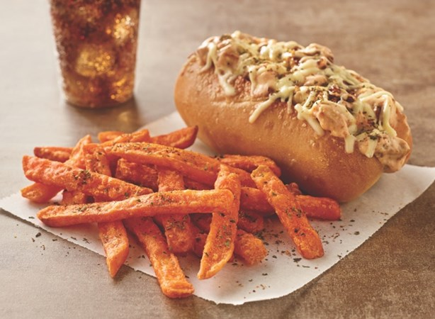 white-bbq-chicken-grinder-with-sweet-potato-fries.jpg